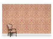 Allouette Coral Repeat Pattern Textured Wall Covering