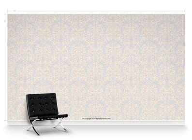 Chiara Fountainblue Repeat Pattern Textured Wall Covering