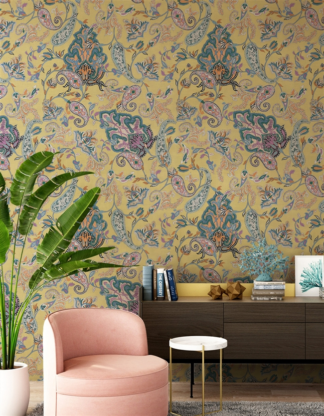 Mumbai Repeat Pattern Textured Wall Covering