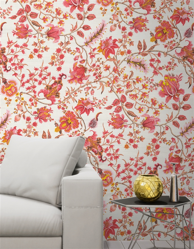 Panaji Repeat Pattern Textured Wall Covering