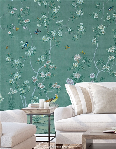 Picardy Emplastro Chinoiserie Mural
