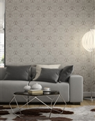 Damask 1 Repeat Pattern Textured Wall Covering