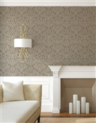 Damask 4 Repeat Pattern Textured Wall Covering