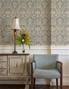 Antique Damask 2 Repeat Pattern Textured Wall Covering