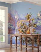 Amazonia Tropical Panoramic Mural