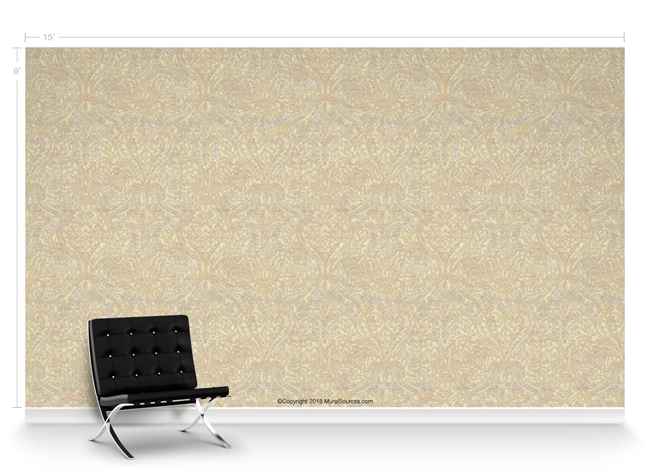 Grand Damask Santa Fe Repeat Pattern Textured Wall Covering