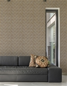 Pleats Repeat Pattern Textured Wall Covering