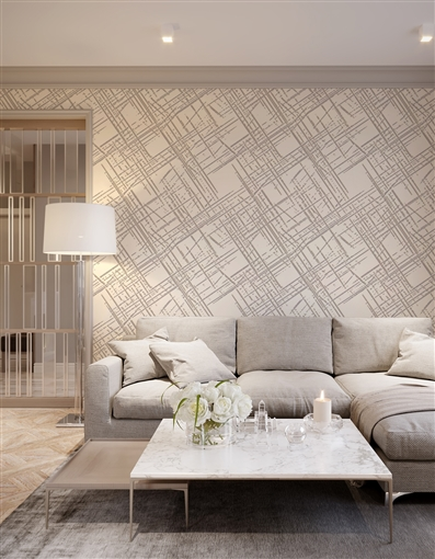 Diascratch Repeat Pattern Textured Wall Covering