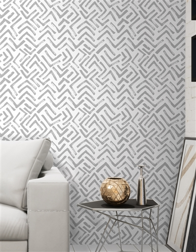 Els Repeat Pattern Textured Wall Covering