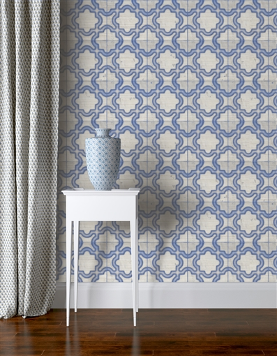 Kari Repeat Pattern Textured Wall Covering