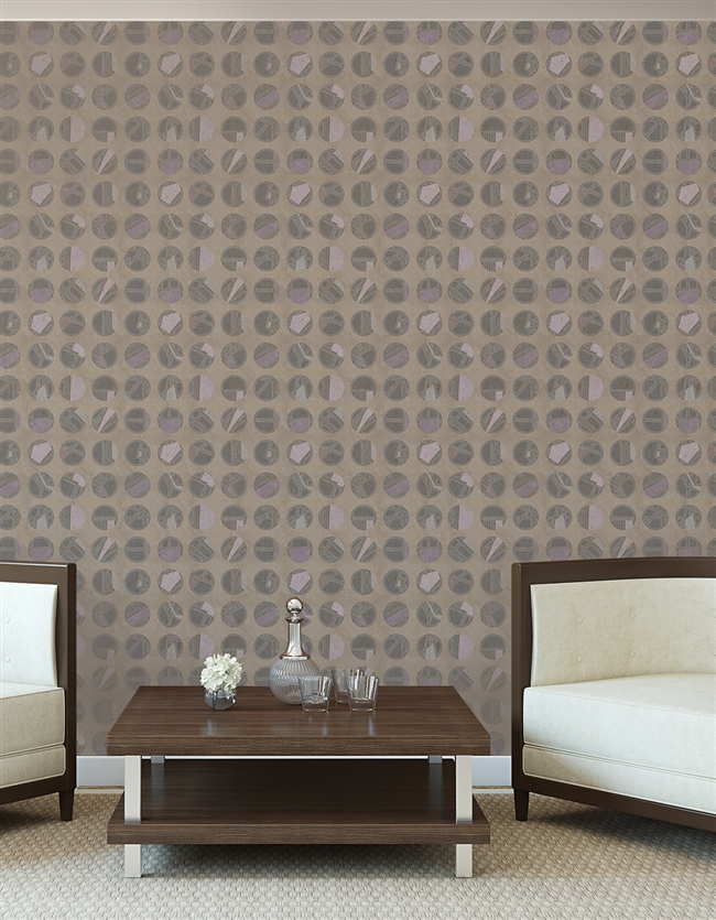Marbles Repeat Pattern Textured Wall Covering