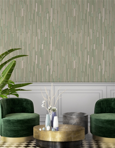 Rods Repeat Pattern Textured Wall Covering