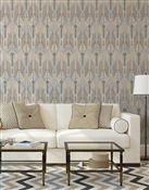 Ikat 1 Repeat Pattern Textured Wall Covering