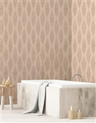 Ikat 5 Repeat Pattern Textured Wall Covering