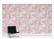 Kiku Rose Repeat Pattern Textured Wall Covering