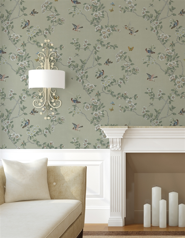 Beauvais Repeat Pattern Wall Covering