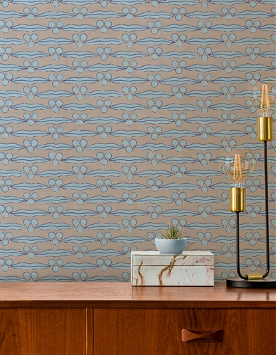 Ottoman 5 Repeat Pattern Textured Wall Covering