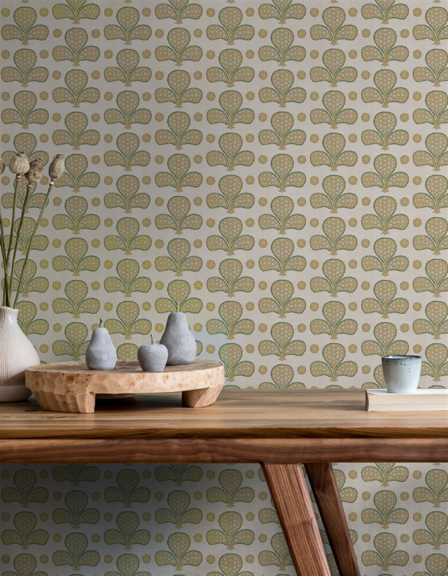 Ottoman 6 Repeat Pattern Textured Wall Covering