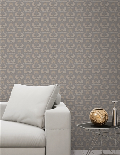 Ottoman 7 Repeat Pattern Textured Wall Covering